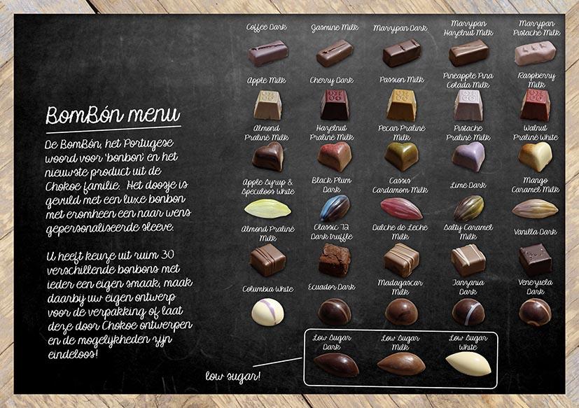 Chocolade-Bonbon-Menu-Chokoe